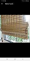 Бамбуковая римская штора 100/160 готовая в сборе., фото 1