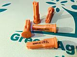 Розпилювач інжекторний на обприскувач 110.01 ID помаранчевий Інжекторні розпилювачі для обприскувачів, фото 2