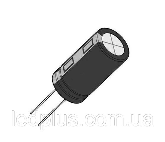 100мкФ 16В 105С конденсатор электролитический