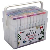 Набор скетч-маркеров Aihao 60 цветов (PM-508-60)
