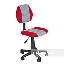 Комплект растущая парта для дома FunDesk Lavoro L Grey+детское кресло FunDesk LST4 Red-Grey, фото 3