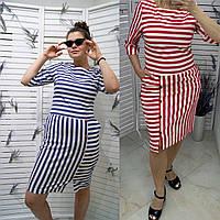 Женское летнее стильное льняное платье. Женская одежда.