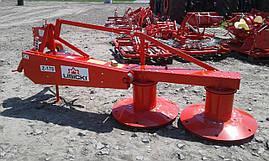 Косарка роторна 1,65 Lisicki Польща на мінітрактор трактор Т-25 МТЗ ЮМЗ, фото 2