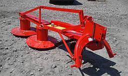 Косарка роторна 1,65 Lisicki Польща на мінітрактор трактор Т-25 МТЗ ЮМЗ, фото 3