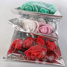 Шпильки Розочки для волос с цветами в прическу Свадебные украшения