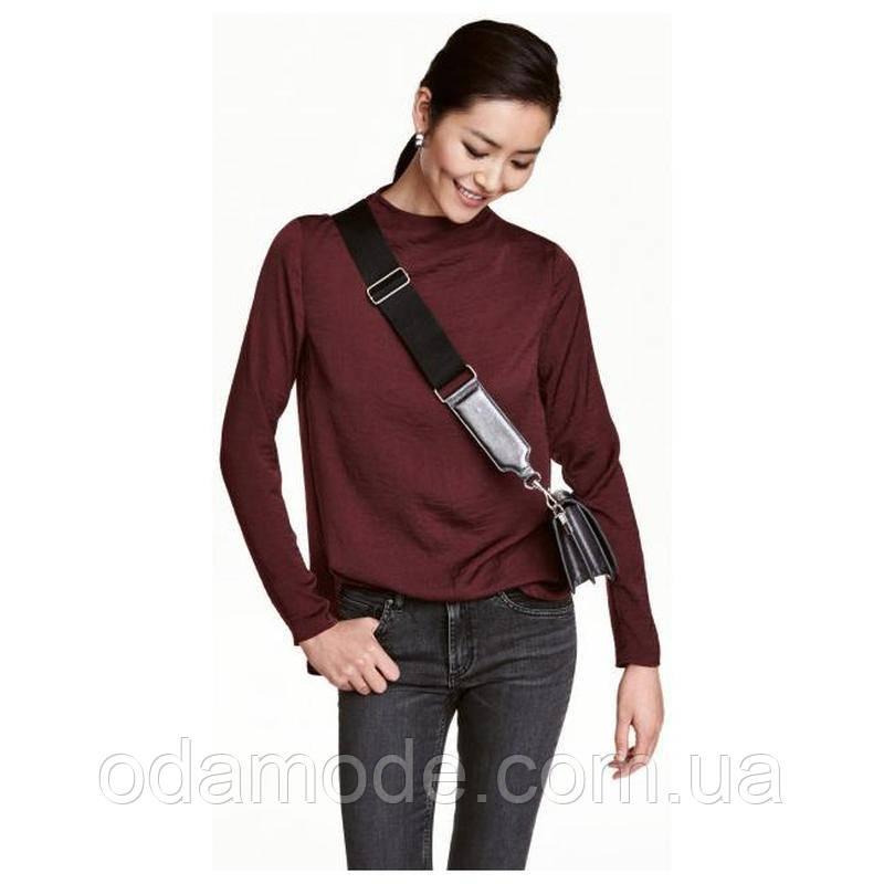 Блуза женская H&M бордовая