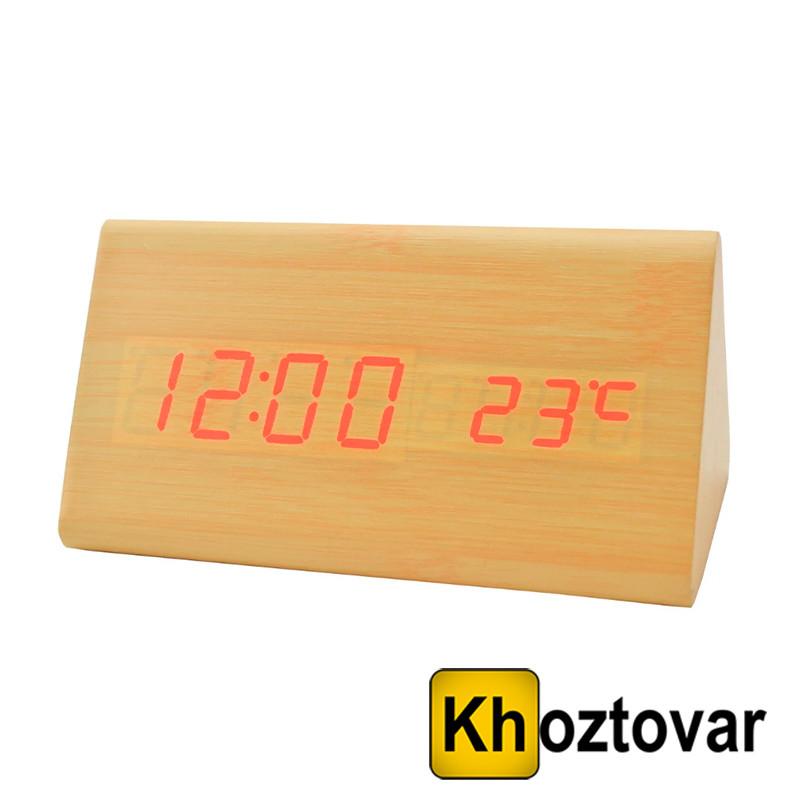 Електронні настільні годинники з підсвічуванням VST-861-6