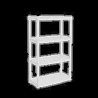 Стеллаж универсальный 4-х секционный Белый 18-122050-1, КОД: 358706
