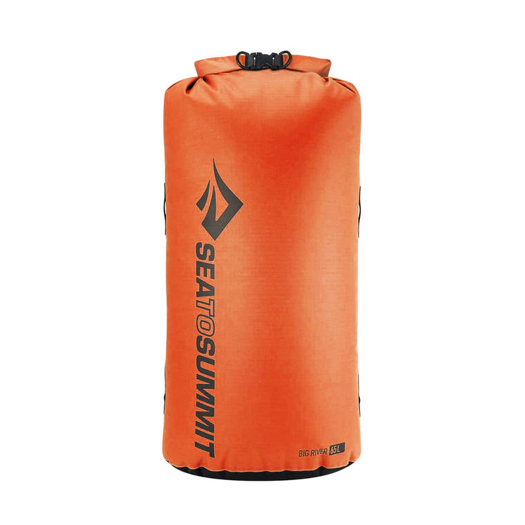 Гермомішок Sea To Summit Big River Dry Bag 65 Orange, фото 2