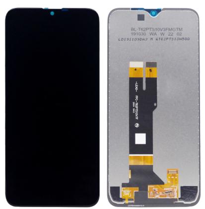 Дисплей (екран) для Nokia 2.3 (TA-1209) з сенсором (тачскріном) черный Оригінал, фото 2