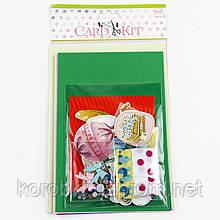 Набор скрапбукинга для изготовления 3-х больших открыток с конвертами 3322414-27 (3641) (23*13 см)