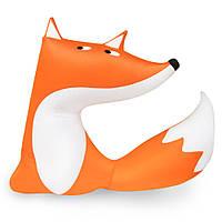 Мягкая развивающая интерьерная подушка-игрушка антистресс Лиса Алиса Kortex