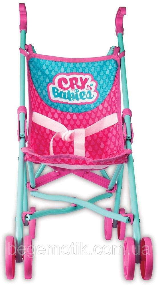 Cry Babies детская коляска трость для кукол Край Беби IMC Toys  99999IM Bebés Llorones Pushchair