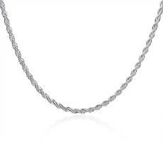 Цепочка женская витая Колосок покрытие серебро, фото 3