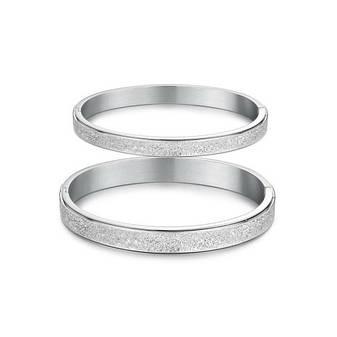 Парні браслети для двох закоханих медична сталь, фото 2