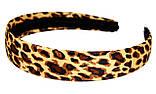 """Ободок для волос """"леопардовый"""" (12 шт), фото 2"""