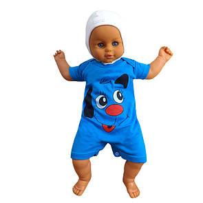 Пісочник футболка з малюнком для хлопчиків інтерлок