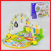 Детский развивающий игровой коврик Дитячий розвиваючий килимок