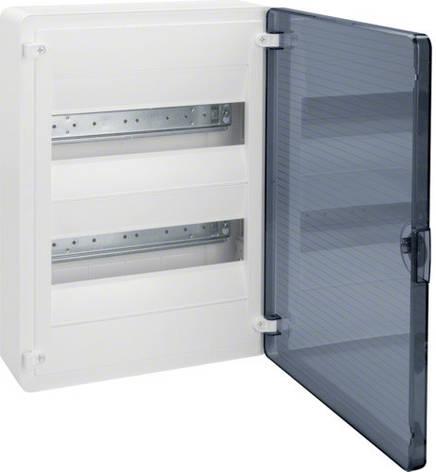 Щит GOLF 24-модуля з прозорими дверима VS212TD (накладної), фото 2
