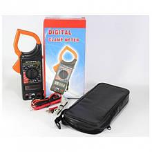 Цифровой Мультиметр DT 266FT Токовые клещи мультитестер тестер