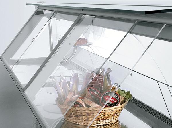 Шторки для холодильных витрин из оргстекла (акрила)