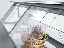 Шторки для холодильних вітрин з оргскла (акрилу)