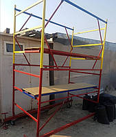 Вышка тура на колесах передвижная строительная 1.6 х 0.8 (м) 1+1