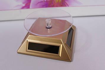 Обертова підставка для біжутерії золотистий