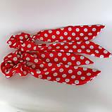 Резинка для волос твилли  Бант с лентами Резинка с повязкой шарфиком, фото 5