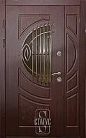Двери входные ФС-095 со стеклопакетом