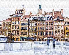 Картина по номерам - Рождественская площадь