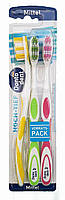 Dontodent зубные щетки Hoch-Tief (3 шт) Mittel
