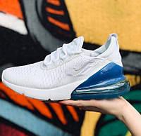 Женские кроссовки в стиле Nike Air Max 270 белые