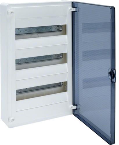 Щит GOLF 36-модулів з прозорими дверима VS312TD (накладної)