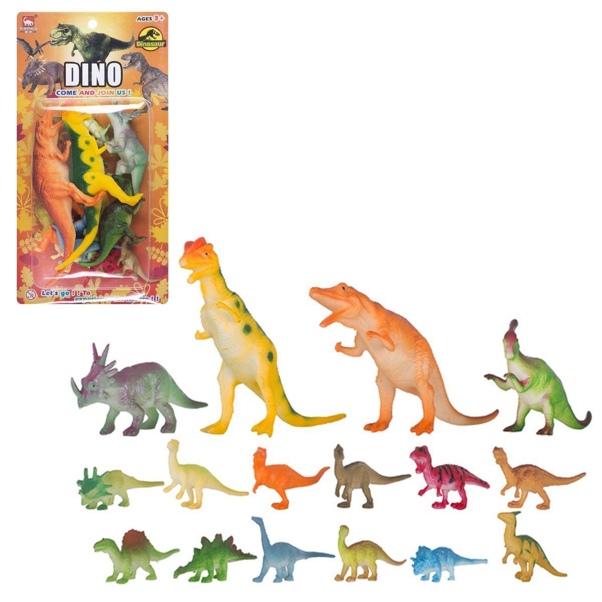 Набор фигурок Динозавры  16 шт