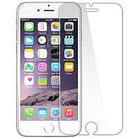 Ударопрочное гибкое защитное стекло 2.5D Nano для Apple iPhone 6   6s тонкое Прозрачное 31735, КОД: 1676121