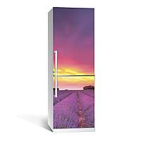 Наклейка на холодильник Zatarga Лаванда 01 650х2000 мм Сиреневый Z180081, КОД: 1804449