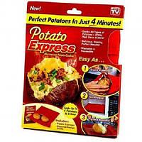 Мешочек для запекания as seen on tv Potato Express Красный n-547, КОД: 1769379