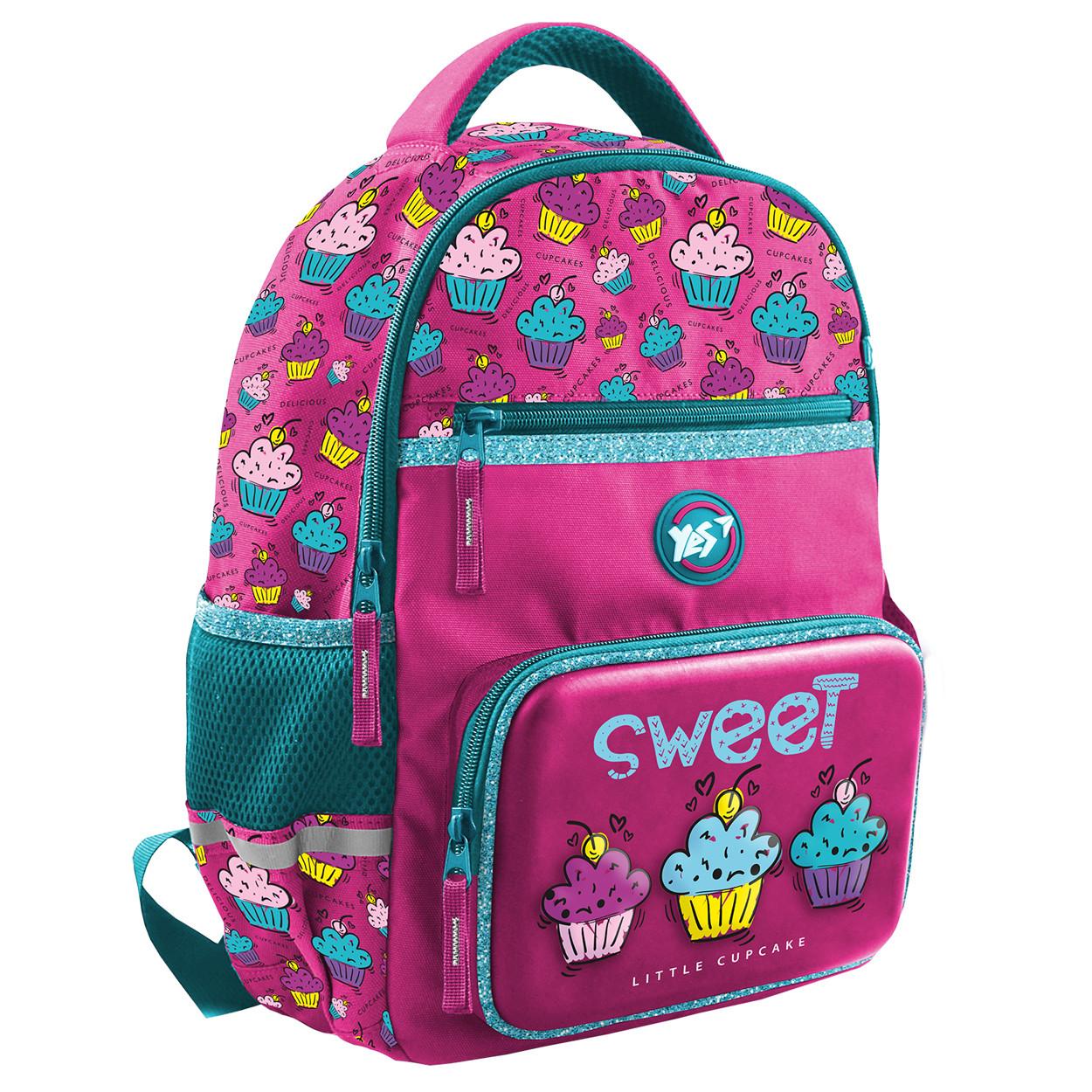 Рюкзак школьный YES К-36 Sweet