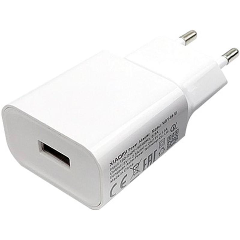Сетевое зарядное устройство Xiaomi Home Charger QC 3.0 USB 2A White (MDY-10-EF)