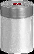 Клейка стрічка DUCT TAPE KIP-TAPE маскувальна з плівкою 13453, КОД: 1787279