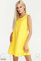 Платье а-силуэта с карманами S,M,L,XL