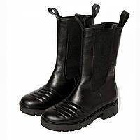 Сапоги Paranova shoes Chelsea Runway 37 Черные 10002037, КОД: 1809782