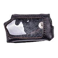 Чехол для брелока Pandora DXL 5000 Valenta кожаный Черный РК711, КОД: 293175