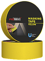 Малярна Стрічка PROMAXX Professional Line 38мм20м  Жовта 12687, КОД: 1787182