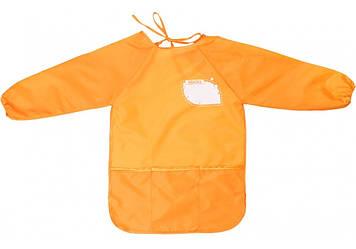 """Фартух для творч. """"Maxi"""" №MX61650-06 помаранчевий(1)(20)"""