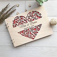 Деревянный альбом с необычным дизайном для фото 7Arts WE-0032, КОД: 1474279