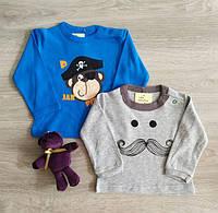 Реглан кофта для новорожденных мальчиков Пират Усы Польша Одяг для немовляти хлопчика, фото 1