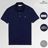 Мужской летний комплект Lacoste (поло и шорты), комплект Лакосте, фото 4