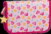 Пенал школьный Brunnen с наполнением Розовый 10-49 120 11, КОД: 1576595